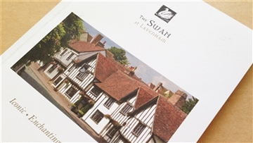 The Swan at Lavenham brochure design